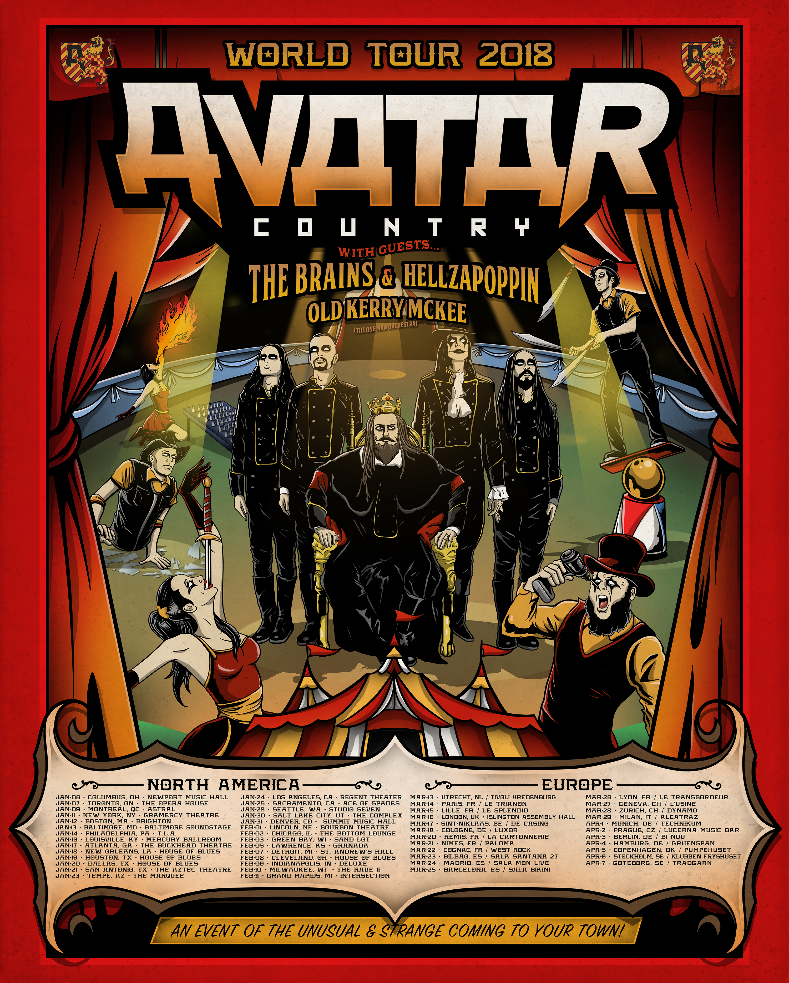 Avatar Country World Tour